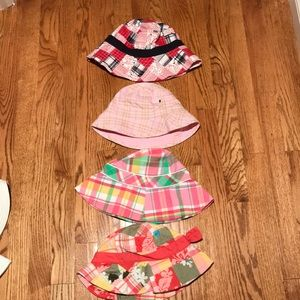 Hats for a little girl.